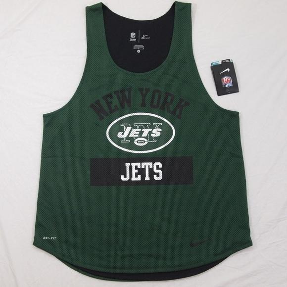 Women s New York Jets Gear Up Mesh Tank Top DriFit. NWT. Nike 3737264f0